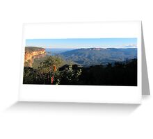 Mt Solitary Greeting Card