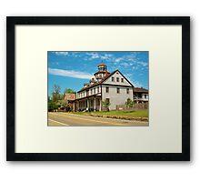 Photo of the Zoar Hotel in Ohio Framed Print
