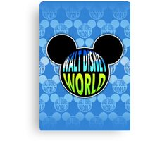 Walt Disney World Earth Canvas Print