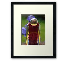 What is this thing called? ~ Harmonica! Solved by Kay Kempton Raade in about 33 goes ~ Framed Print