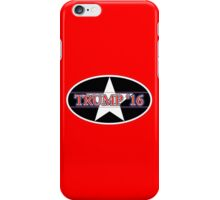 2016 Trump for president iPhone Case/Skin