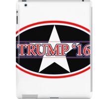 2016 Trump for president iPad Case/Skin