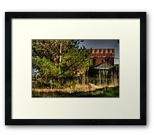 Old But Not Forgotten (Colour) - Boiler House, Hydro Majestic Medlow Bath - The HDR Experience Framed Print