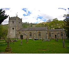 St Oswald's Church - Arncliffe Photographic Print
