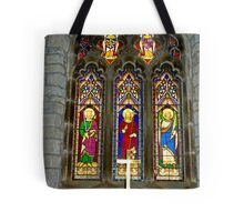 Window #2 - St Oswald's Church - Arncliffe Tote Bag
