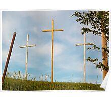 Crosses in Limestone, WV Poster