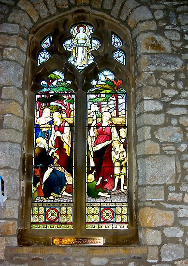 Window #3 - St Oswald's Church - Arncliffe by Trevor Kersley