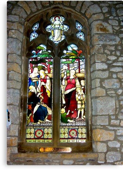 Window #3 - St Oswald's Church - Arncliffe by Trevor Kersley