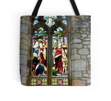 Window #3 - St Oswald's Church - Arncliffe Tote Bag