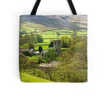 The Village Church at Burnsall Tote Bag