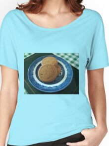 Nice things come in threes -  Mild Ginger Biscuits Women's Relaxed Fit T-Shirt