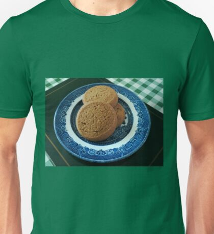 Nice things come in threes -  Mild Ginger Biscuits Unisex T-Shirt