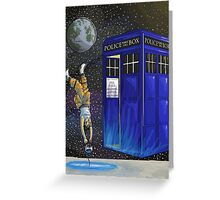 Chell and the Doctor Greeting Card