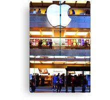Apple Store Canvas Print