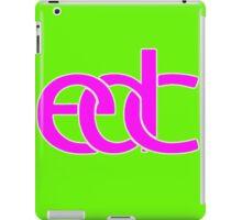 Electronic dance music pink iPad Case/Skin