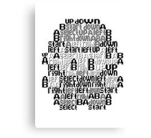Typography TPP Canvas Print