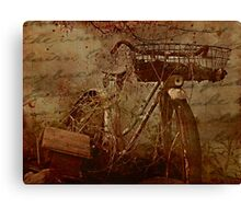 Time Passes, But Not Forgotten Canvas Print