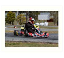 Tom Kart Art Print