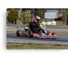 Tom Kart Canvas Print