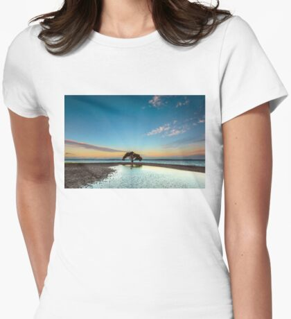 Dusky Mangrove, VictoriaPoint Qld Australia Womens Fitted T-Shirt