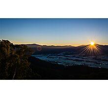 Winter Sunrise Photographic Print