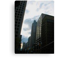 Toronto Sky Canvas Print