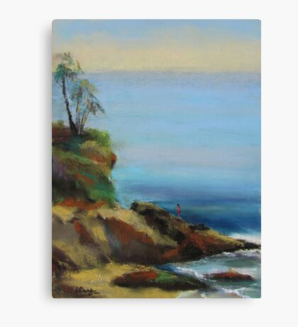 Diver's Cove, Laguna Beach  Canvas Print