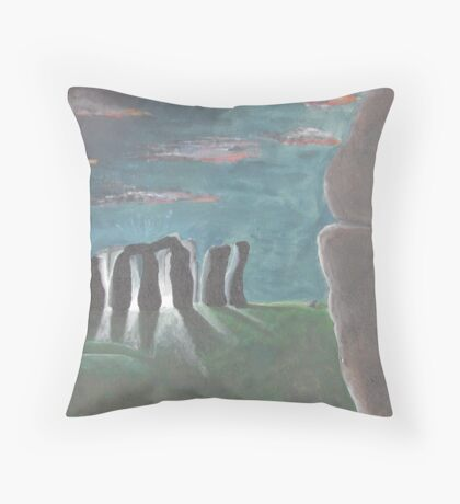 Stongehenge's Secret Throw Pillow