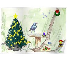 The Starling and Christmas in Africa Poster