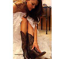 Ladies Western Wear Photographic Print