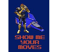 Show Me Your Moves Photographic Print