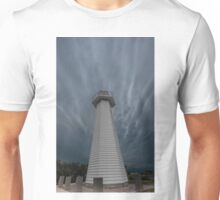 The Clouds & the Lighthouse. Cleveland Qld Australia Unisex T-Shirt