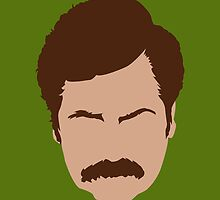 Ron Swanson by yibba