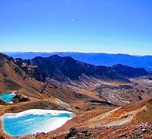 The Emeralds of Tongariro by Pete Staples