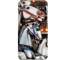 Vintage Horse Carousel Merry-Go-Round Ride  iPhone Case/Skin