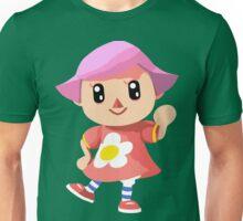 Friendly Female Villager Unisex T-Shirt