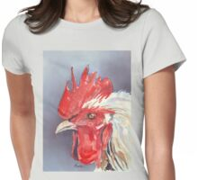 Mr. Chook (and Doris) Womens Fitted T-Shirt