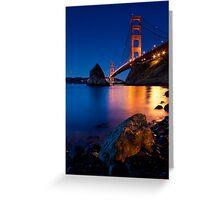 Golden Gate Bridge  Greeting Card