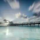 The Long Jetty - Gold Coast Qld Australia by Beth  Wode