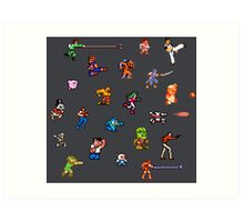 Champions of the NES! Art Print