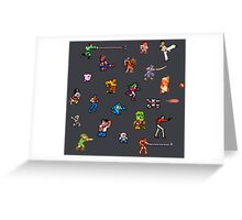 Champions of the NES! Greeting Card