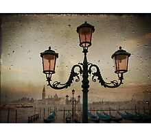 Venise after rain Photographic Print