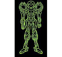 Super Metroid Schematic Photographic Print