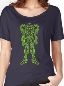 Super Metroid Schematic Women's Relaxed Fit T-Shirt