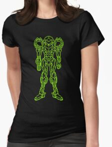 Super Metroid Schematic Womens Fitted T-Shirt