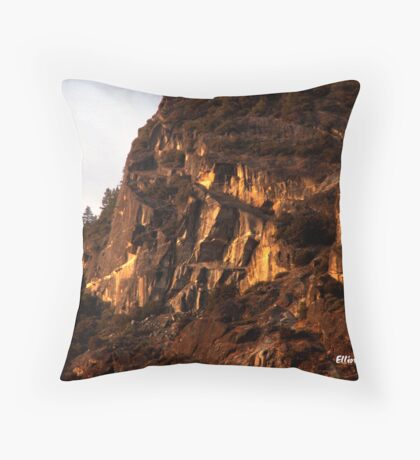 Yosemite Sunrise Throw Pillow