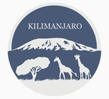 Kilimanjaro (Blue) Kids Clothes