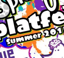 Splatoon Splatfest 2015 Sticker