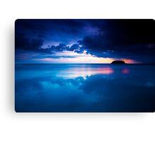 Kata Beach Sunset Canvas Print