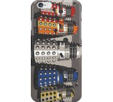 5 Shades of Dalek iPhone Case/Skin